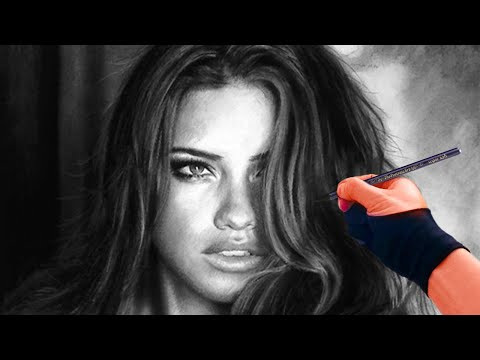 this-will-make-you-fall-in-love-with-charcoal---sensual-adriana-lima-drawing