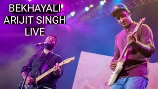 Bekhayali _ Arijit Singh Live _ LB Stadium Hyderabad 2019 _ Full Video