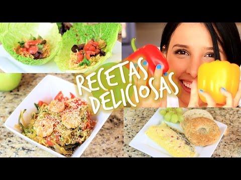 Recetas faciles y saludables youtube - Comidas ricas sanas y faciles ...
