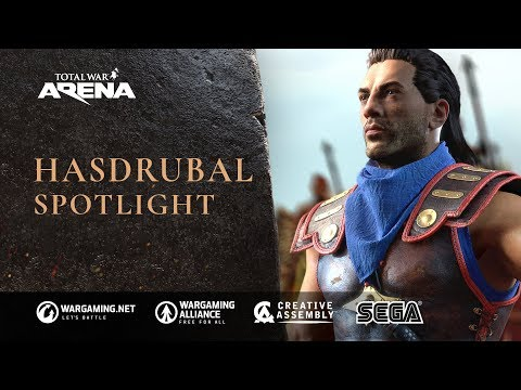 Total War: ARENA - Hasdrubal spotlight