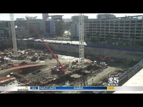 Dennis O'Donnell Tours Warriors' New Arena Construction Site