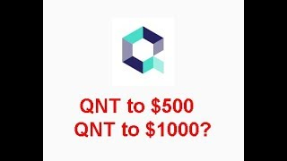 Quant(QNT) to $500 or $1000 in bull run? Is it possible with SIA partnership?