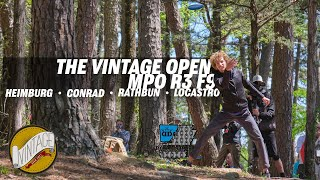 2021 Vintage Open | Final RD F9 | Heimburg, Conrad, Rathbun, Locastro | GKPRO Disc Golf