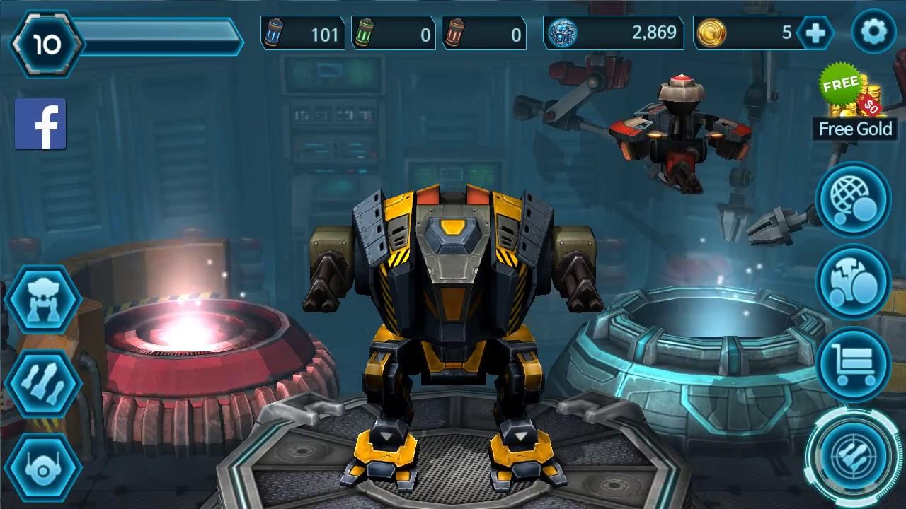 Alien Robot Games