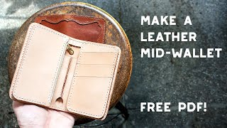Make A Leather Mid-Wallet (FRE…