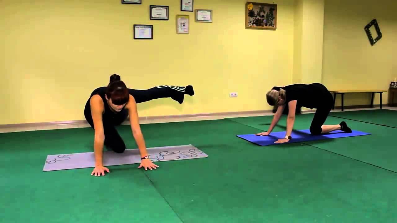 Физические упражнения для похудения живота, бедер, ягодиц