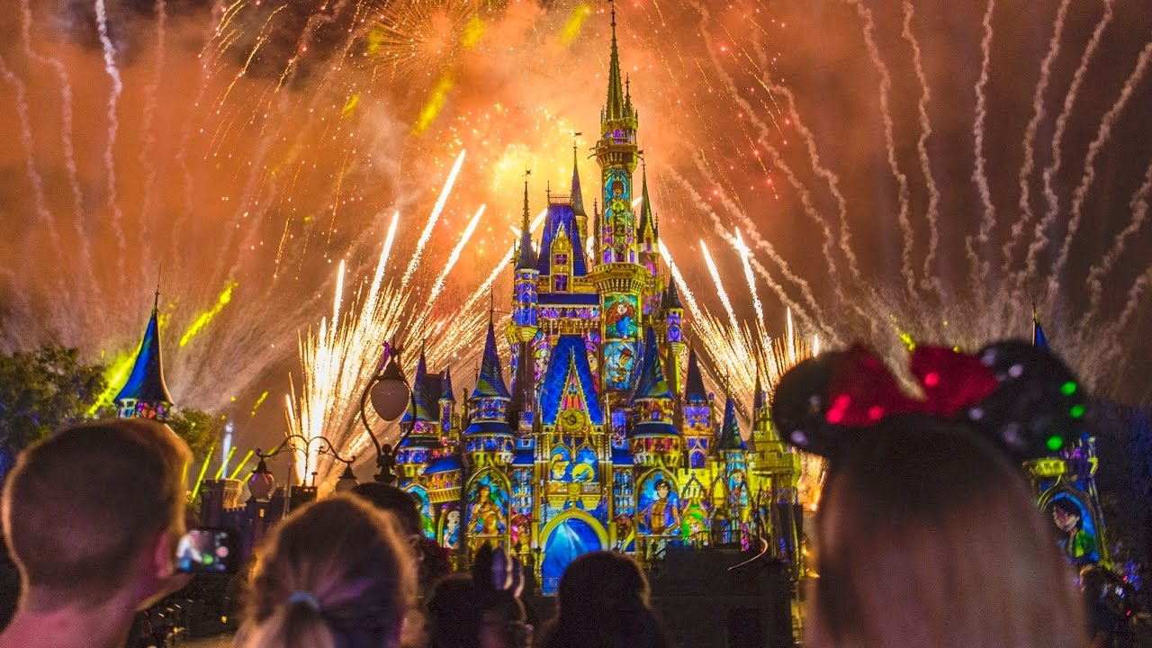 New Happily Ever After Fireworks Show At Walt Disney World Magic