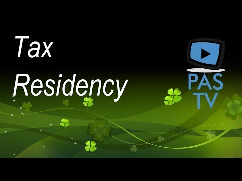 Tax Residency Explained