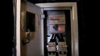 видео Установка в квартире электросчетчика