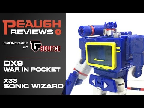 Video Review: DX9 War in Pocket - X33 SONIC WIZARD