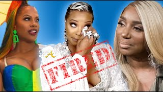 ATLien LIVE!!! Eva Marcille FIRED from Real Housewives of Atlanta, Kandi COMES OUT, Nene Cancelled?!