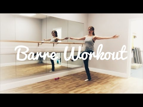 Express Barre Workout 🩰 (tone your thighs, butt and core in less than 20 minutes!