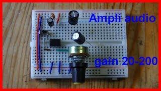 Comment faire un amplificateur audio - DIY