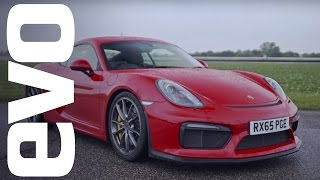 Porsche Cayman GT4 onboard | evo Track Car of the Year
