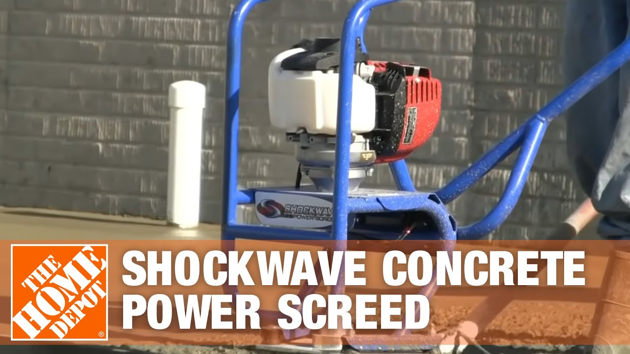 ShockWave Concrete Power Screed