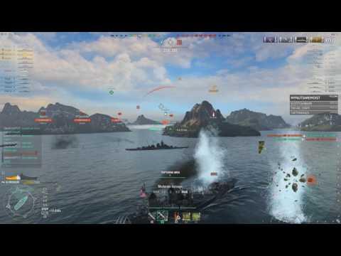 World of Warships 0.5.16.1 - Missouri Making Bank 1.14 Million Credit Game