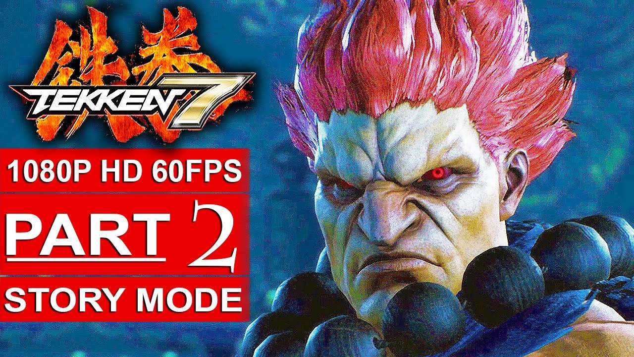 TEKKEN 7 Story Mode Gameplay Walkthrough Part 2 [1080p HD 60FPS PS4 PRO] -  No Commentary