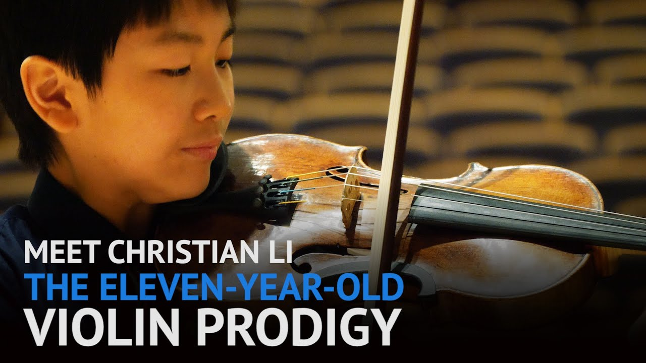 Download Meet Christian Li, the eleven year old violin prodigy