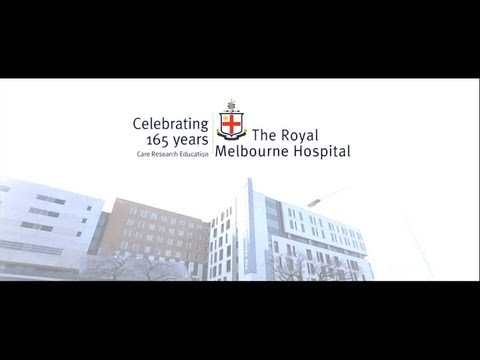 The Royal Melbourne Hospital - 165 years of caring
