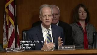 Sen. Moran Questions Dr. David Shulkin, Nominee for VA Secretary (Second Round)