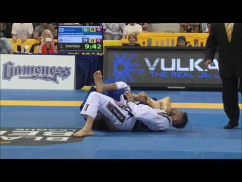 6x BJJ world champion Rafael Mendes Highlight flowing and finishing