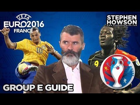 Group E; Belgium, Italy, Republic of Ireland & Sweden | Euro 2016 Guide