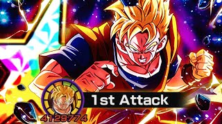 GEBROCHEN 100% INT UMWANDLUNG DOKKANFEST FUTURE GOHAN IN AKTION! DBZ Dokkan Battle