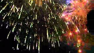 morocco mall : feux d'artifice - by kimo