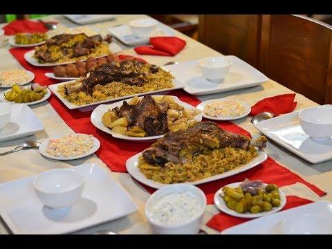 6c86e4a32 اقتراح سفرة فخمة 2 لعزومة أو سفرة رمضانية أروع من المطاعم - YouTube