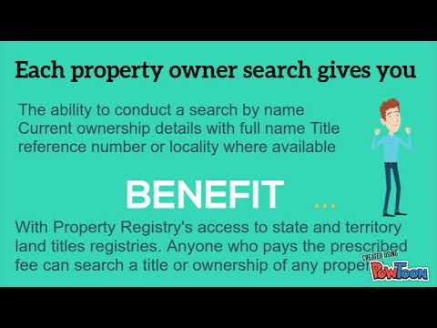 Title Property Search
