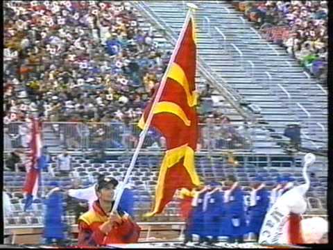 Macedonia Nagano Winter Olympics 1998