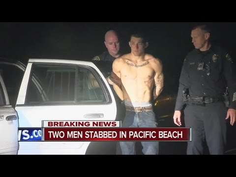 Fight erupts in Pacific Beach, 2 stabbed
