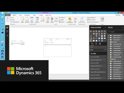 How To Create A Sales Report In Power BI With Microsoft Dynamics GP Data