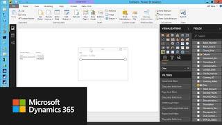 كيفية إنشاء تقرير مبيعات في السلطة ثنائية مع Microsoft Dynamics GP البيانات