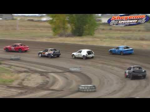 Sheyenne Speedway Mini Stock Heats (9/30/18)