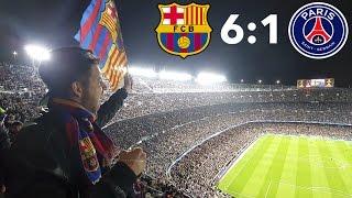 BARCELONA - PSG 6:1 | КАК ЭТО БЫЛО | 08.03.2017