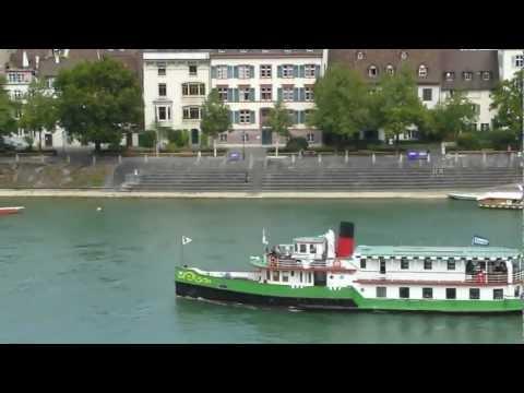 TelesCoPic Crane Rhine Ships Basel