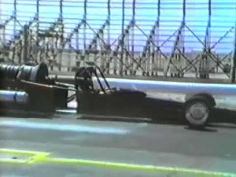 Jet Car vs Corvette Race