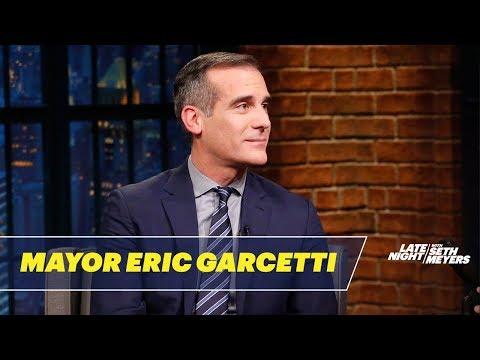 Mayor Eric Garcetti Is Optimistic About Local Politics