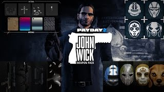 Payday 2 - John Wick Weapon Pack Review