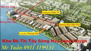Tây Sông Hậu Diamond City long Xuyên An Giang 0911119131.Khu Đô Thị Long Xuyên An Giang