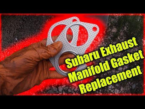 Subaru Exhaust Manifold Gasket Replacement