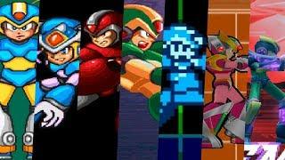 Evolution of Power-Ups in Mega Man X Games