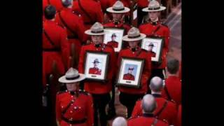 Royal Canadian Mounted Police tribute