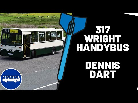 This is DW317. Dennis Dart Handy bus J317XVX