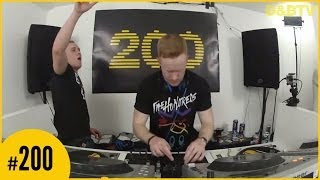 D&BTV Live #200 - A.M.C b2b Mattix & Futile(Six Blade) & Linguistics & MC Phantom