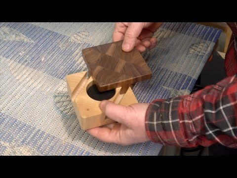 Making An Impossible Dovetail Puzzle Box
