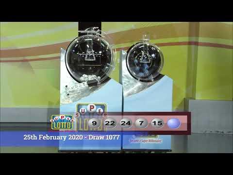 Super Lotto Draw 1077 02252020