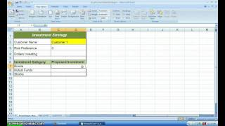BUSI1402 - Personal Investment Strategies - Pg. 160 - VLOOKUP