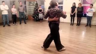 """Открытый урок в """"Танго без правил"""". Андрей и Дима."""